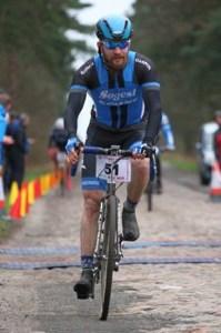 Krystian na rowerze