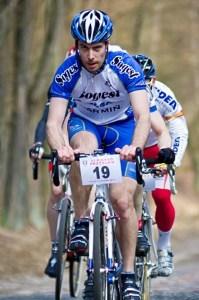 Malik na rowerze