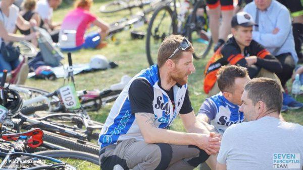 Andrzej i Marcin po wyścigu