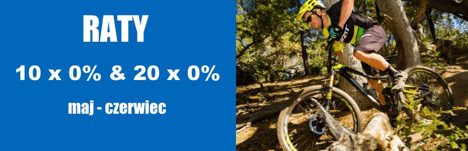 Raty 0% na rowery GIANT i LIV